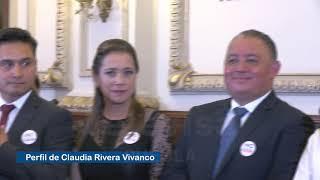 Claudia Rivera Vivanco, nueva presidenta municipal de Puebla