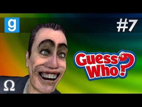 RAISE THE ROOF & GET DOWN! XD | Guess Who #7 Garry's Mod