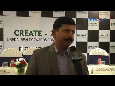 G Ram Reddy at CREATE Awards 2017 Press meet