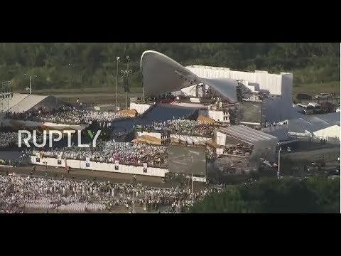 LIVE: Pope Francis celebrates final mass of World Youth Day in Panama