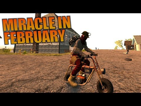 MIRACLE IN FEBRUARY | Ravenhearst MOD 7 Days to Die | Let's Play Gameplay Alpha 16 | S01E20