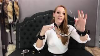 Locking bra Bondage