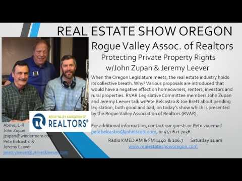 Oregon Real Estate, Protecting Private Property Rights