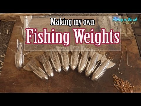 How To Make Fishing Weights