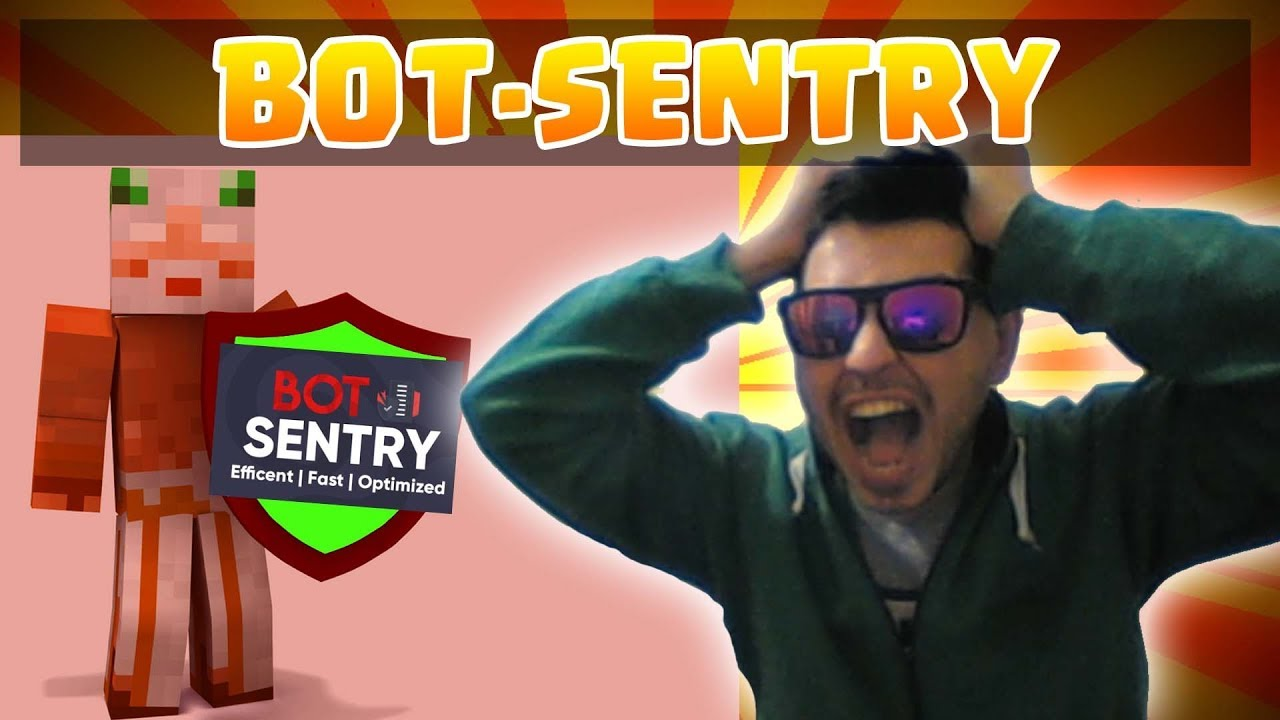 ⚡ Bot-Sentry ⚡ The MOST powerfull AntiBot | Stopping +