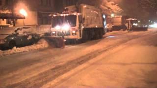 Snow Storm Hits NYC