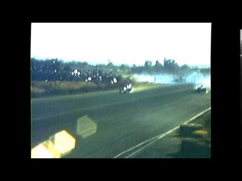 1959 RIVERSIDE RACEWAY valley home service vs ivo twin race