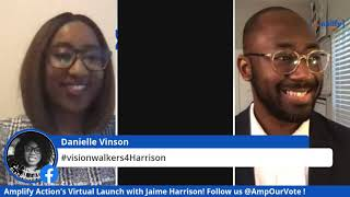 Amplify Action Virtual Launch with U.S. Senate Candidate: Jaime Harrison of South Carolina