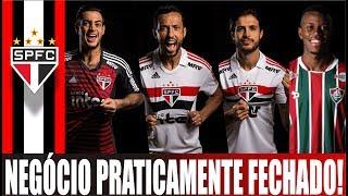 ULTIMAS DO SÃO PAULO FC; NENÊ; NOVO UNIFORME; CALAZANS; HUDSON; GOLEIRO JEAN