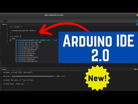 Conheça a ARDUINO IDE 2.0 (beta) -  Similar ao VS code