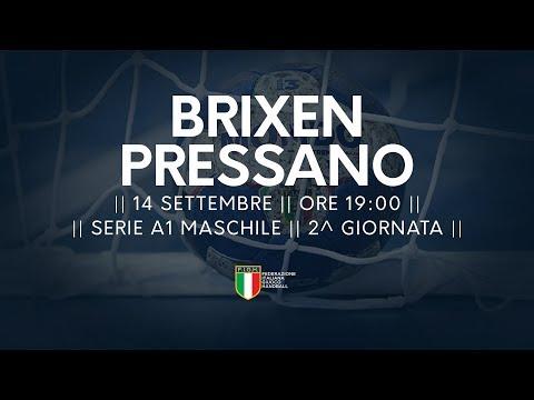 Serie A1M [2^]: Brixen - Pressano 26-24