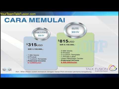 TALK FUSION Indonesia Presentation