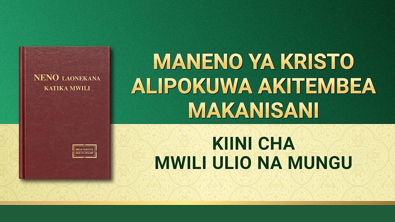 Usomaji wa Maneno ya Mwenyezi Mungu | Kiini cha Mwili Ulio na Mungu