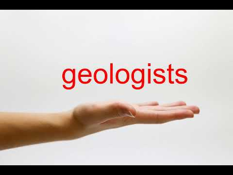 How to Pronounce geologists - American English