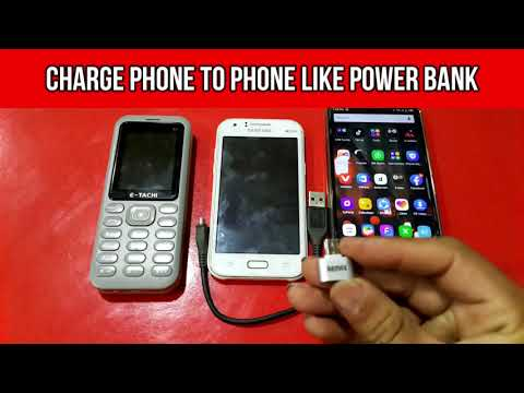 How To Charge Phone To Phone || No Need Power Bank