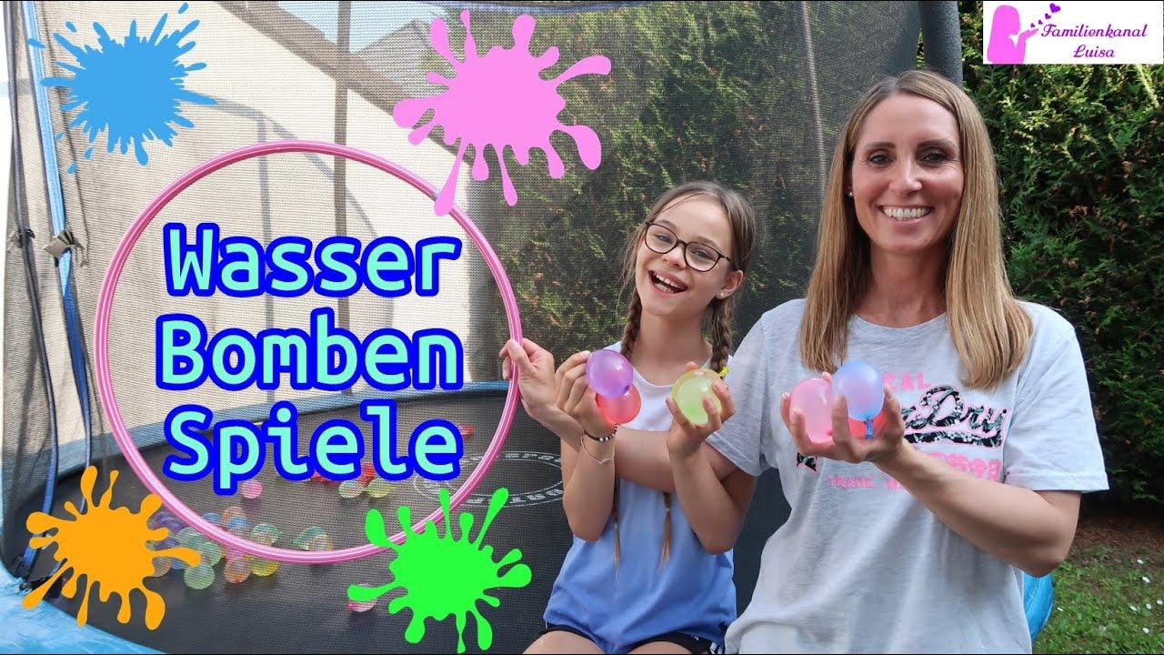 Wasserballon Spiele für den Sommer