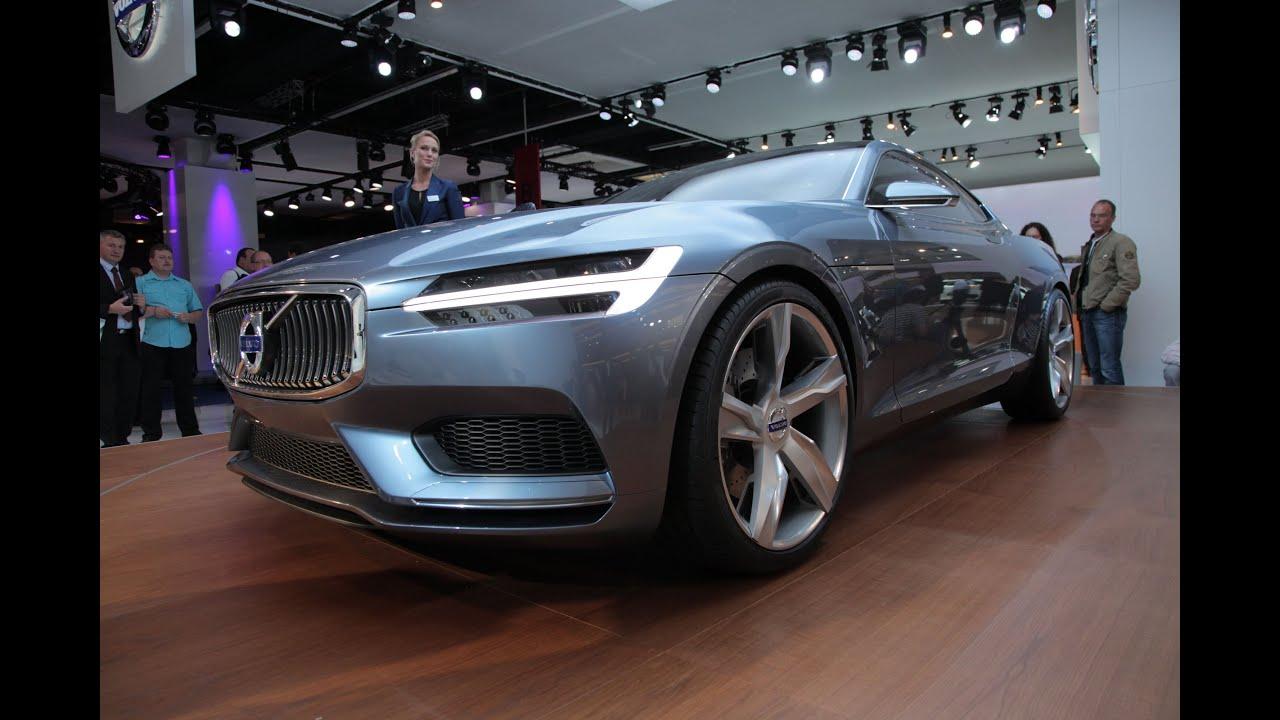 Volvo Concept Coupe 2013 Frankfurt Motor Show Youtube