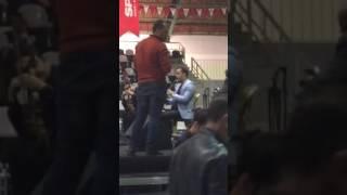 Klarnetçi Veysel Oruç  konser provası  ...