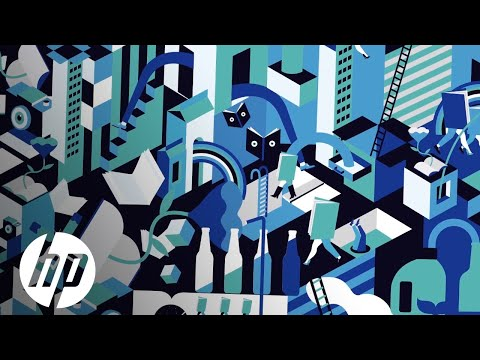 Graphic artist Emily Forgot uses HP SmartStream Mosaic to create unique, eye-catching designs