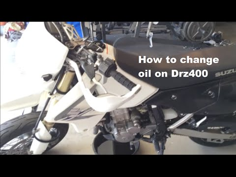 How To Change oil on Drz400 SM