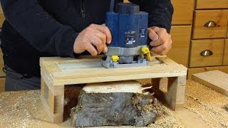 Simple Router Planer Jig - Woodworking