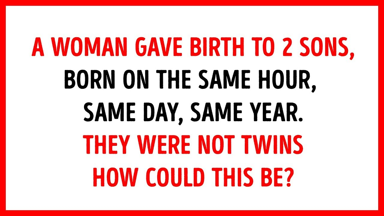 18 Text Riddles And Fun Brain Teasers To Push Your Mind Up A Level