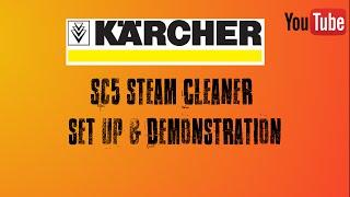 Karcher SC5 Steam cleaner set …