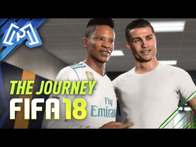ENCONTREI O RONALDO! - FIFA 18 - The Journey #02