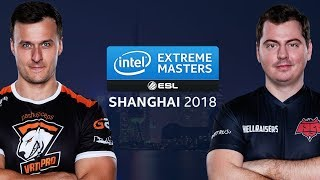 CS:GO - Virtus.Pro vs. HellRaisers [Mirage] Map 1 - Group A Deciders - IEM Shanghai at ChinaJoy 2018