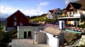 Ein Holzhaus von LEHNER Holzbau in der Schweiz entsteht