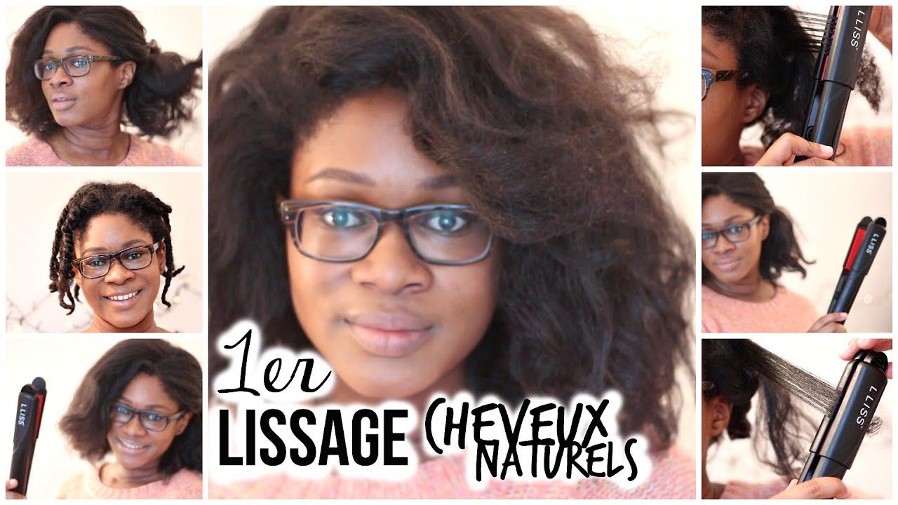 Ju0027ai Lissé Mes Cheveux Crépus Naturels ! Comment Lisser Cheveux  Frisés/crépus   YouTube
