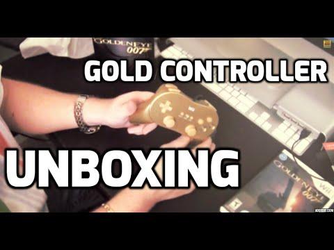 UN BOXING Goldeneye Wii AND Golden Gun Limited Edition!