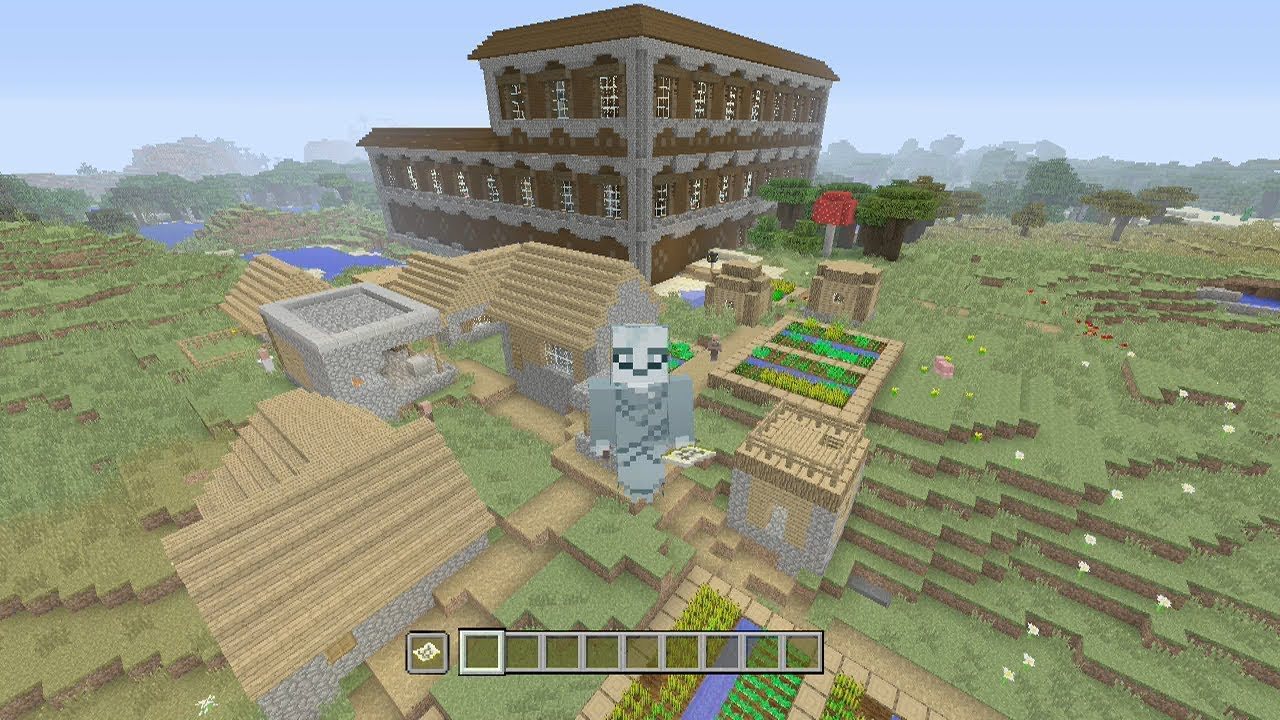 Minecraft Xbox One / PS4 TU62 Seed: Cool 6 5 Village Loot Seed!