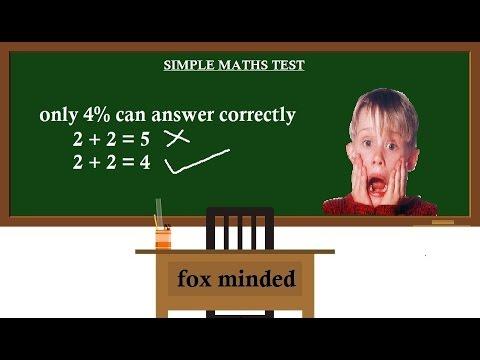 |Cool Math Games||SIMPLE MATHS TEST - GRADE 2||Fox minded ...