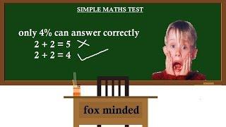 |Cool Math Games||SIMPLE MATHS TEST - GRADE 2||Fox minded|