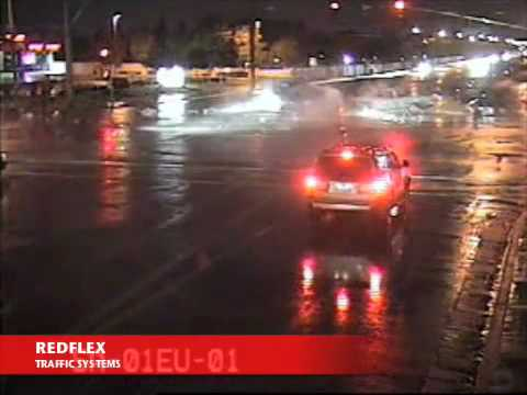 Redflex Traffic Systems - Red light running crash