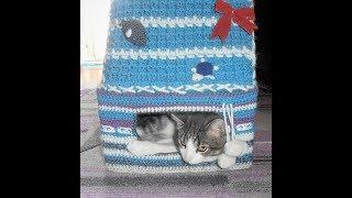 Домик для кота своими руками.