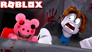 Chased By EVIL PIGGY In ROBLOX!
