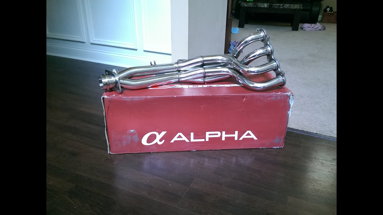 RSX Type S Skunk Alpha Header Install YouTube - Acura rsx type s headers