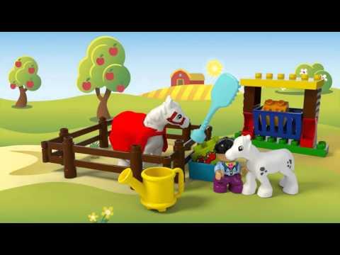 Town Horses - LEGO DUPLO - 10806  - Product Animation