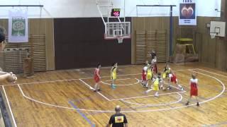 2014 1206 Basket U13 OP U13 Bižuterie Jablonec - Studánka Pardubice 2. zápas