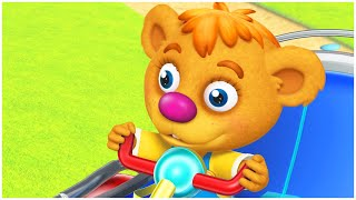 رسوم متحركة للاطفال | دمية دب | الدب الصغير | مجموعة | قناة براعم | الدنيا روزي | Spacetoon