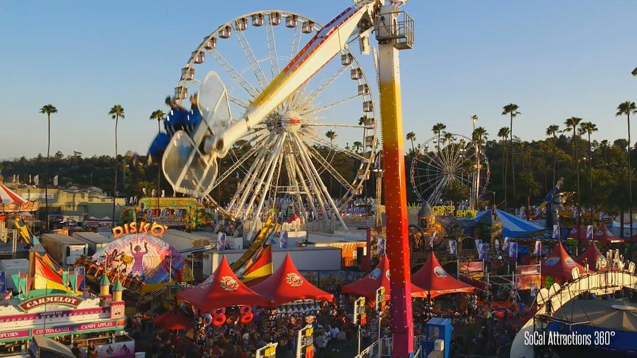 Hd View Of The L A County Fair 2015 Via Sky Ride