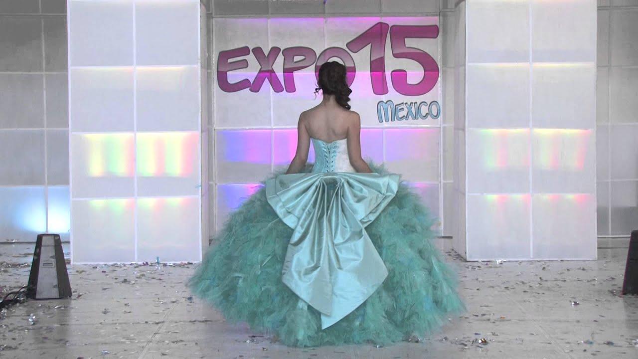 Pasarela de vestidos de 15 años, Diseñador Kariano , YouTube