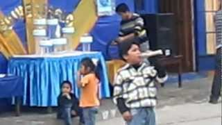 Talentos Peruanos canta Baruj (el flautín del pastor)