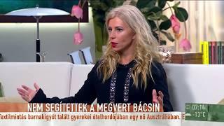 Hevesi Kriszta: 1956 is okozhatja, hogy keveset segítünk a bajba jutottakon - tv2.hu/mokka