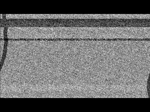 Футаж помехи камеры со звуком #11