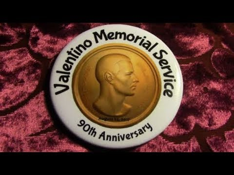 DonnySpielberg Presents RUDOLPH VALENTINO'S 90TH MEMORIAL
