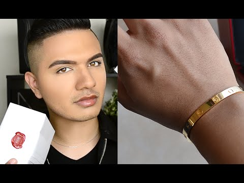MY NEW CARTIER LOVE BRACELET!