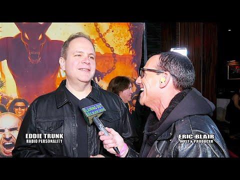 Eddie Trunk & Eric Blair talk Dio Cancer Fund @ 10th Dio Gala 2020